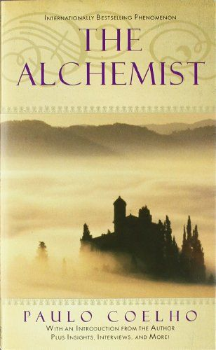 The Alchemist, Paulo Coelho. This is such a beautiful book. Not only is it inspiring, but it also teaches you the virtue of patience and how it pays off when trying to reach your dreams.