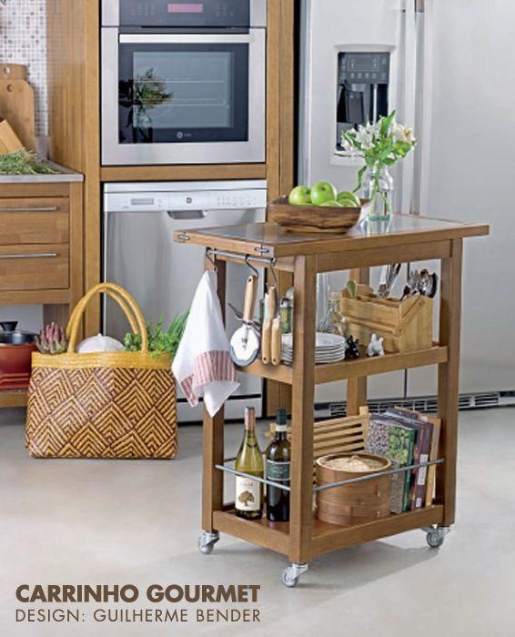 Carrinho Gourmet para cozinha. 231 best Arquitetura   Design images on Pinterest