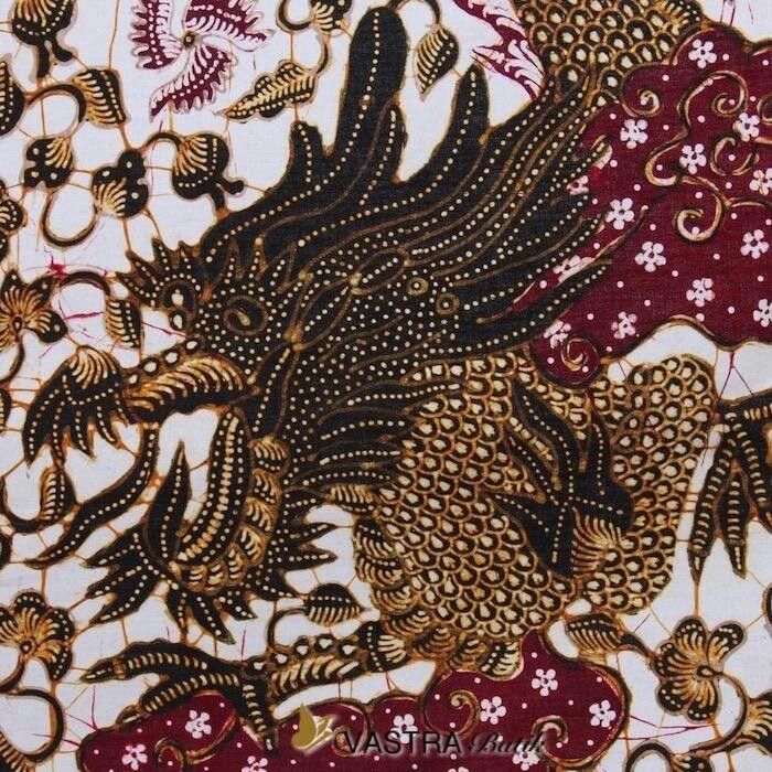 Kemeja Batik Lasem: Batik Lasem Motif Naga