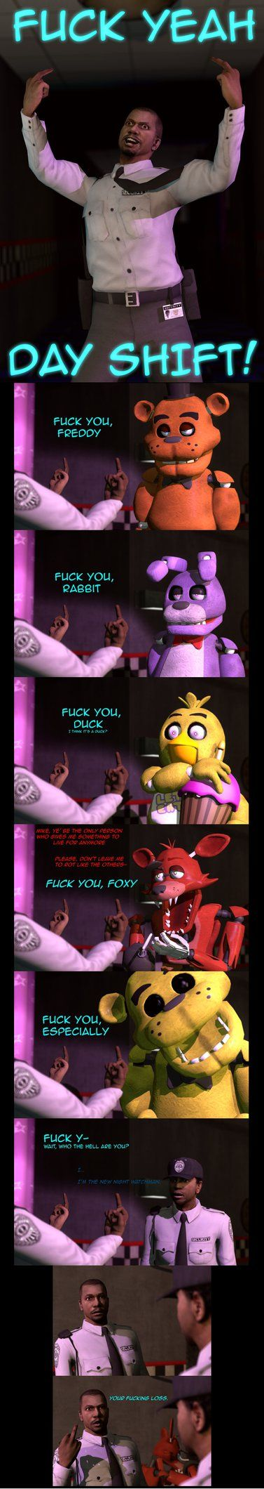 F**k you Animatronics by kinginbros