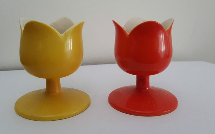 Pair of Vintage Japanese Egg Cups