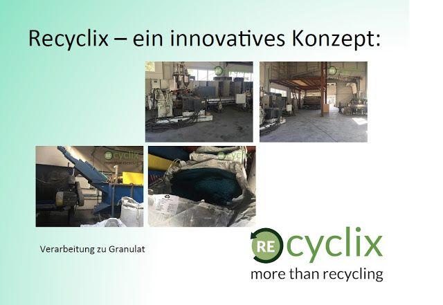 online einkommen 24: Recyclix Fabrik und Messe