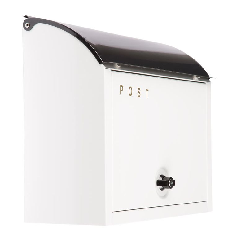 "Easy Outdoor Updates: ""Post"" Locking Mailbox 
