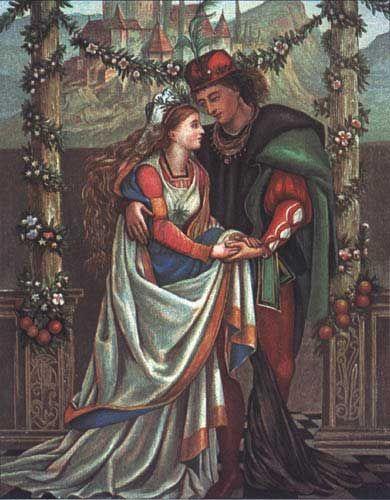 Beauty and the Beast -- Eleanor Vere Boyle -- Fairytale Illustration
