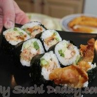Spider Sushi Roll recipe with how to video!!!  My fave!! ~T