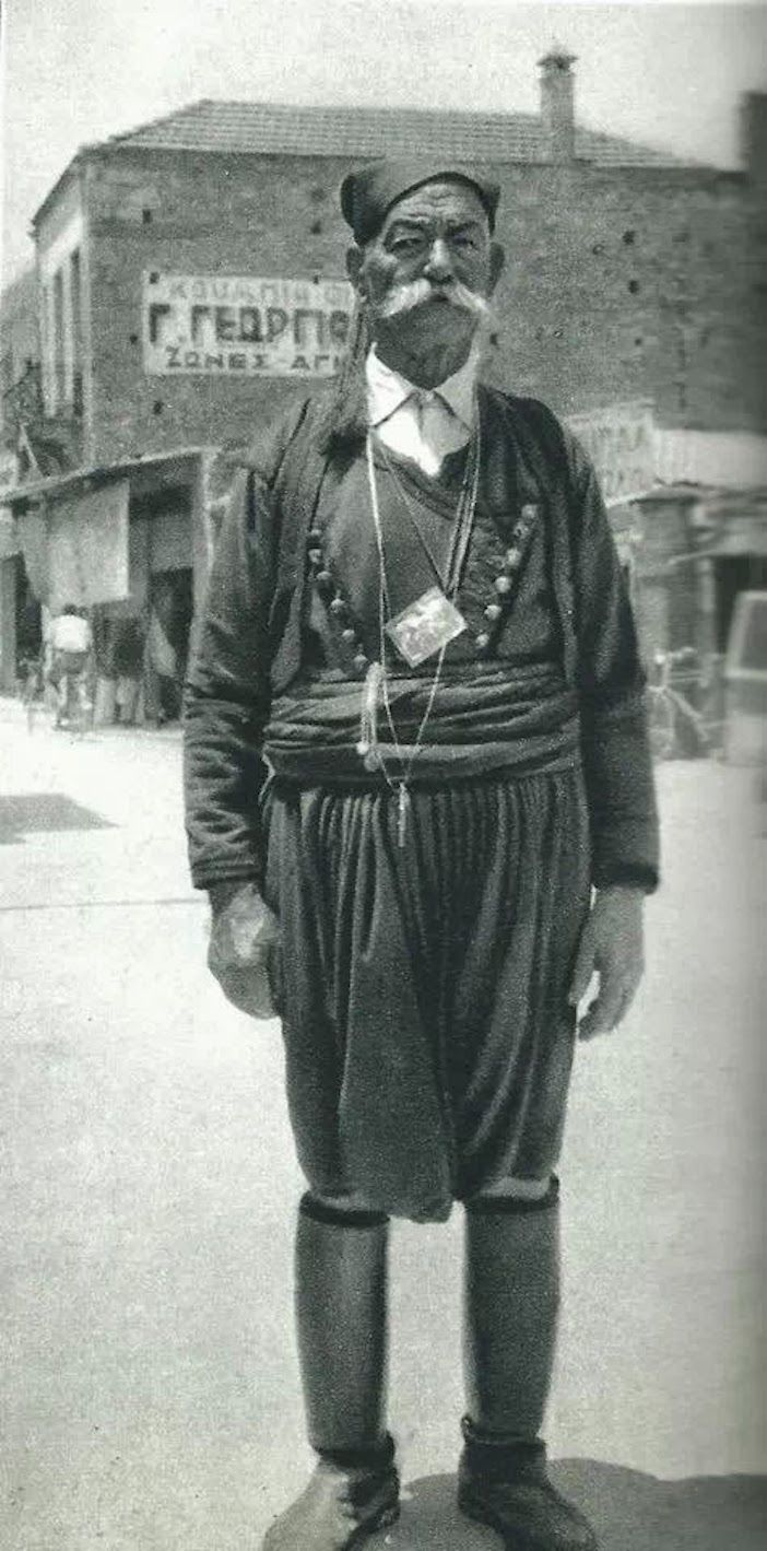1950-A man in Hania