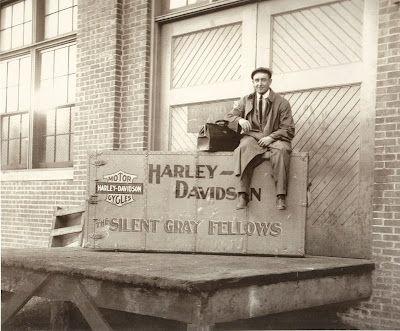 Old Harley Davidson factory
