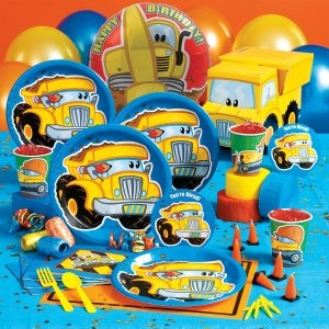 Construction Pals Party Supplies -- I think this is the theme for my 2 year old's b-day party! I think it's really cute!!