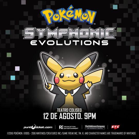 [www.kuchizuke.net]]  Pokémon Symhonic Evolutions en Chile 2016 / 12 de Agosto, Teatro Coliseo