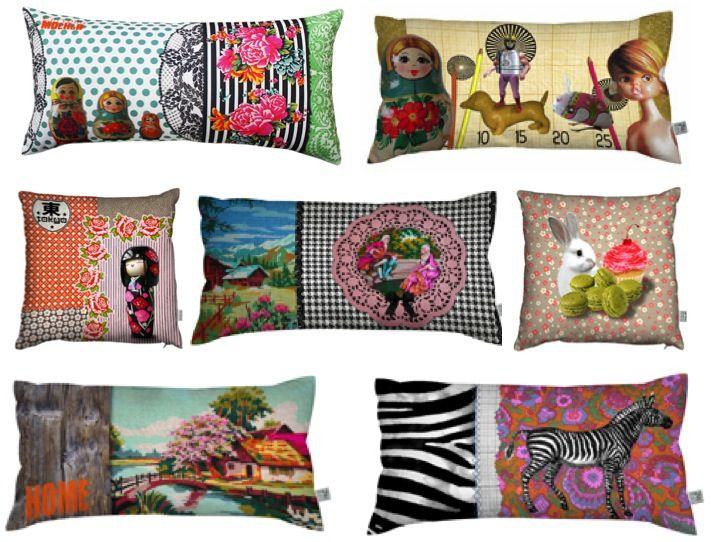 Laissez Lucie Faire cushions