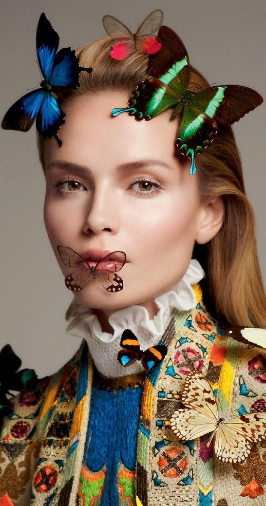 Natasha Poly por Txema Yeste para Vogue Russia Abril 2015 | cynthia reccord