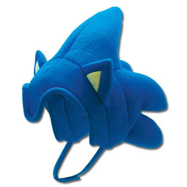 Adult Sonic The Hedgehog Costume Headpiece Hat