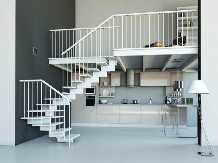 Más de 1000 ideas sobre escaleras para espacios reducidos en ...