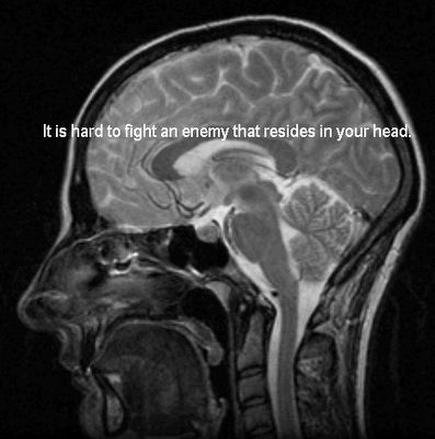 """""""I wish people that judge us would get this. How do you tell your brain that does not work right,to just do what it is suppose to."""""""