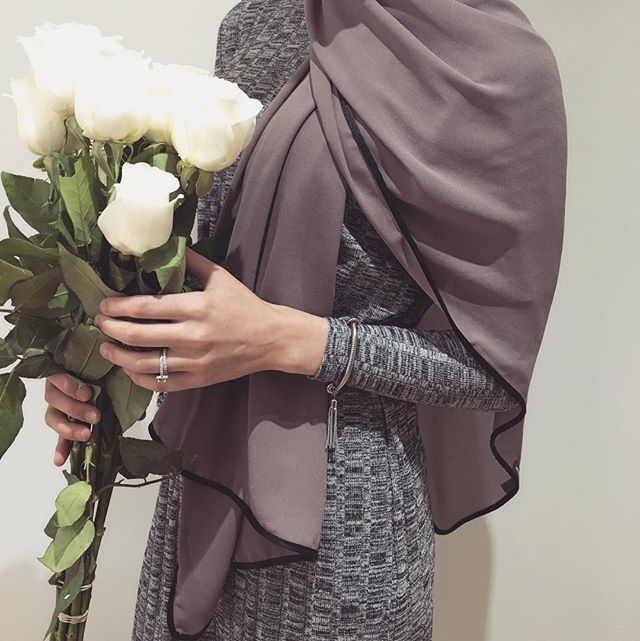 Hijab Fashion | Nuriyah O. Martinez | Throwback