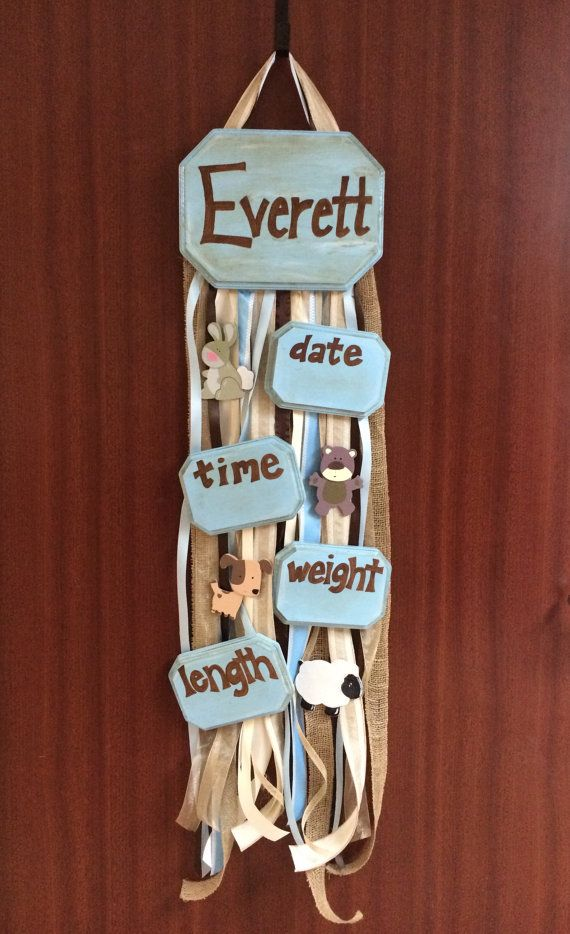 Best baby door hangers ideas on pinterest
