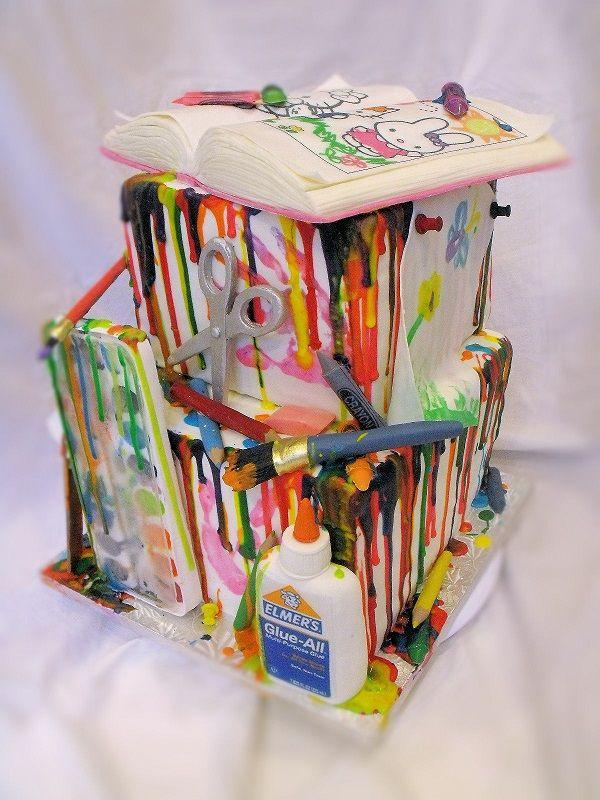 Cake Artist Barbarann : 34 best images about Theme Lovin  Art on Pinterest ...