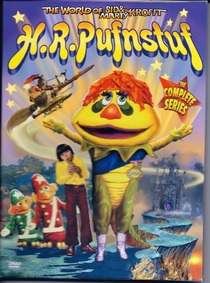 """H.R. Pufnstuf, Who's your friend when things get rough? H.R. Pufnstuf, Can't do a little cause he can't do enough. Once upon a summertime Just a dream from yesterday A boy and his magic golden flute Heard a boat from off the bay ""Come and play with me, Jimmy Come and play with me. And I will take you on a trip Far across the sea..."" But the boat belonged to a kooky old witch Who had in mind the flute to snitch..."" http://www.youtube.com/watch?v=obxfuFrUTzg"