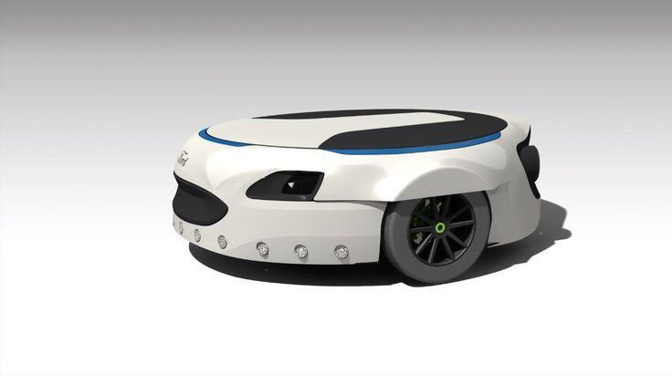 フォードがロボット掃除機風の乗り物を開発・四角い穴を開けるドリル用パーツ・ホームレスなブラックホール(画像ピックアップ56) - Engadget Japanese