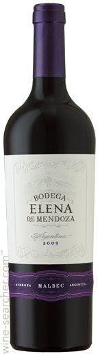 Bodega Elena de Mendoza Malbec