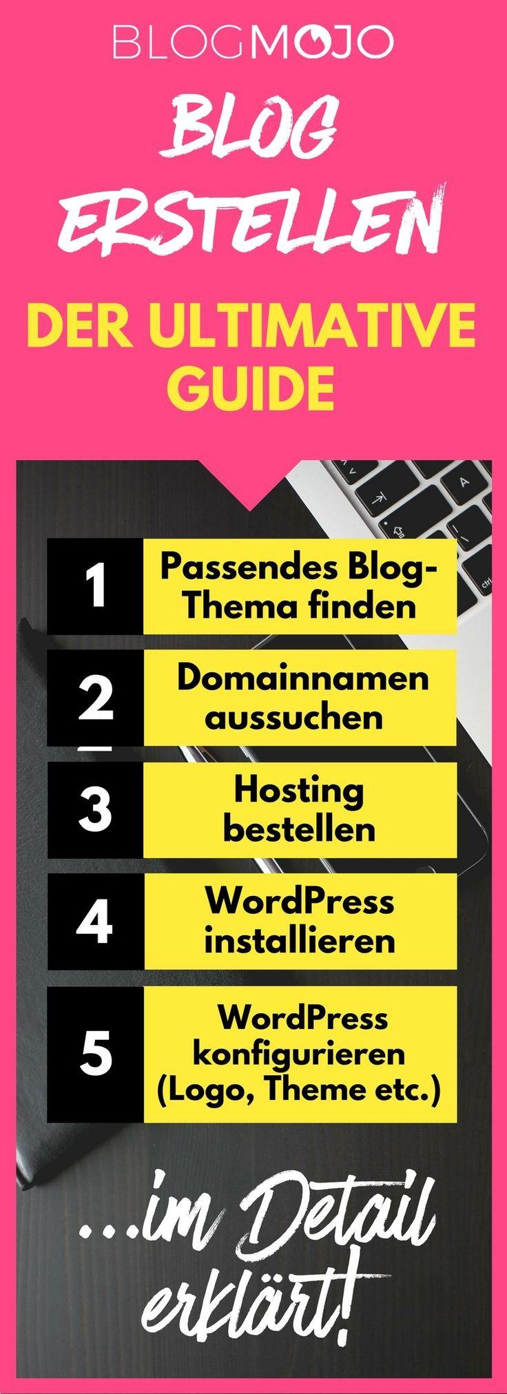 In meinem umfassenden Guide erkläre ich dir Schritt für Schritt und für Anfänger verständlich, wie du einen eigenenBlog erstellen kannst und was du dabei alles beachten musst.