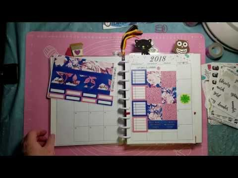 Monthly Plan with Me: Cupcakes & Stickies, Beadaholic94, Emily's Innovat...