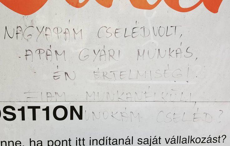 Szomorú kérdés a falakon #cseléd #csudapest #budapest #nyolcker #jozsefvaros #welovebudapest #budapestagram #hungary #momentsinbudapest #mindekozben