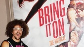 Broadway.com | Photo 9 of 9 | LMFAO and Berry Gordy Bring the Party Rock Backstage at Bring It On