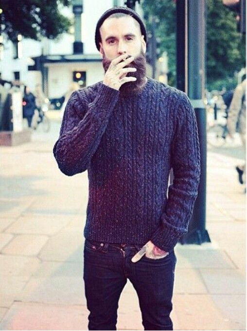 knitted jumper and skinny jeans simplicity and fashion at its best.