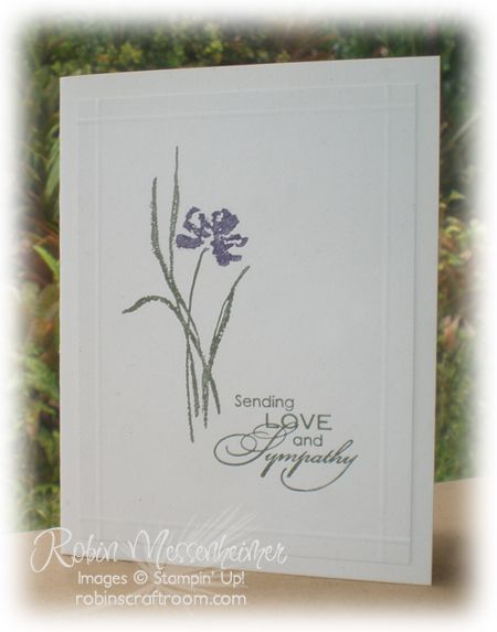 RobinsCraftRoom.com » Blog Archive » Sometimes a Simple Card Is Best