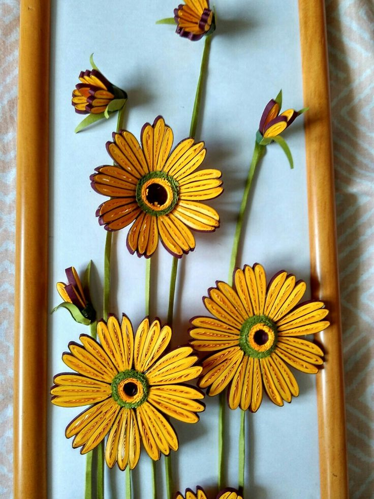 quilled flowers  u2026