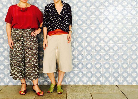 pantalonas curtas bermudão