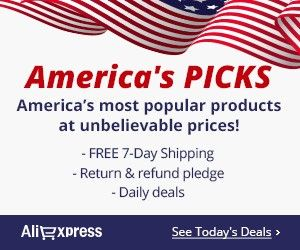 #America's Picks  America's most popular products at unbelievable price Free 7-Day Shipping Return & refund pledge Daily deals
