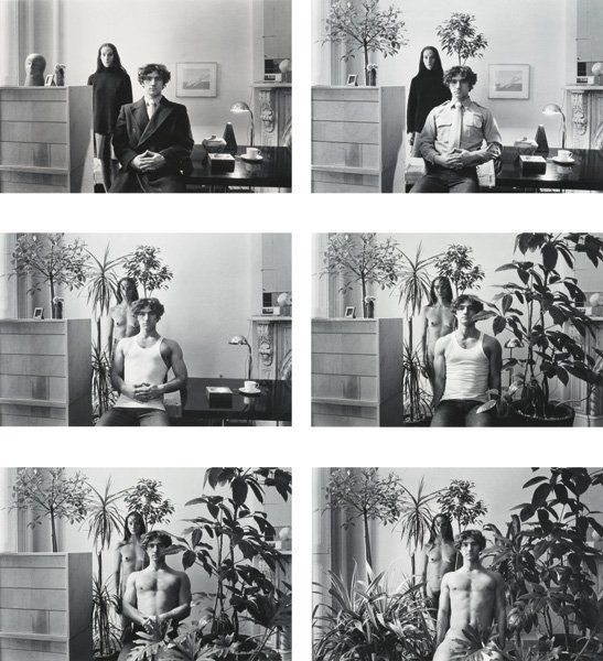 duane michals - paradise regained, 1973; narrative concept