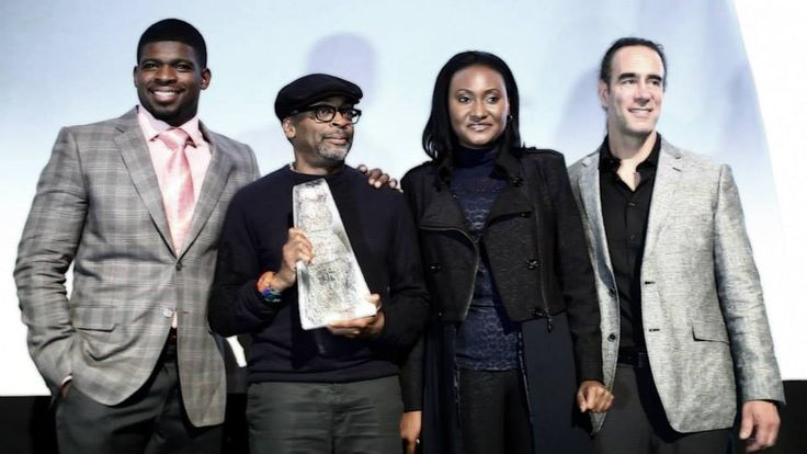 PK Subban and Spike Lee at the Montreal International Black Film Festival! Quite a historic moment. (Here with Actor, businessman Emile Castonguay - right).