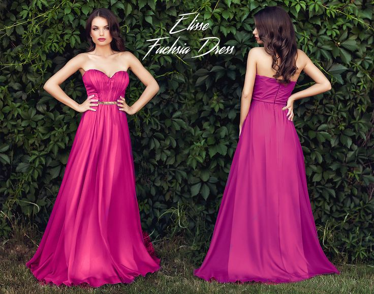 Long evening dress made from fuchsia silk veil, with cups and precious application at the waist: https://missgrey.ro/ro/rochii/rochie-elisse-fuchsia/393?utm_campaign=iulie&utm_medium=rochie_elisse_fuchsia&utm_source=pinterest_produs