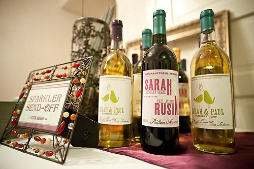 Custom wine labels ..buy two buck chuck and make your own labels
