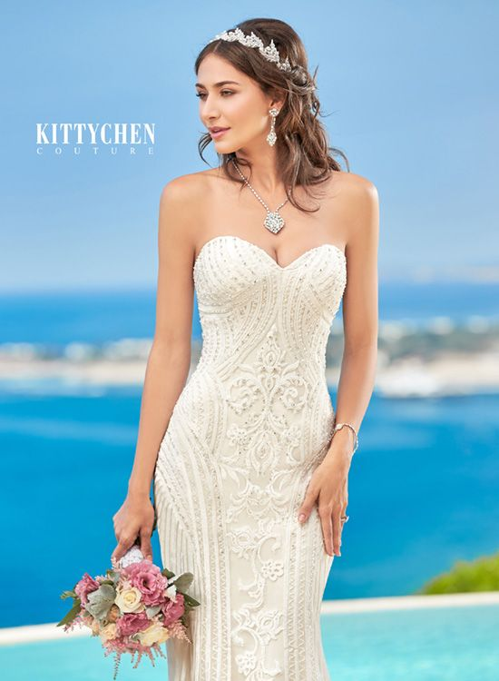 2016 Stylish Caribbean Wedding Dresses | Bridal Gowns | KittyChen Couture - Alvina