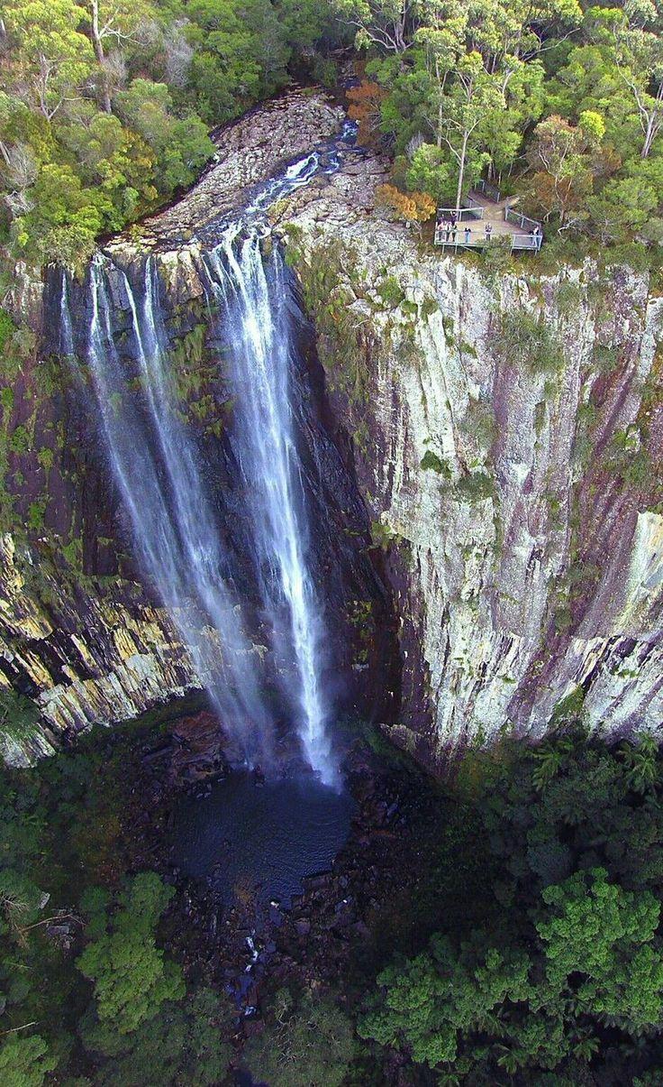 Magnificent Minyon Falls near Lismore... Northern NSW