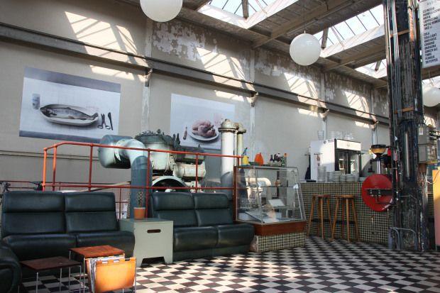 Het oude electragebouw van Philips omgetoverd tot industrieel restaurant @ Radio Royaal Eindhoven