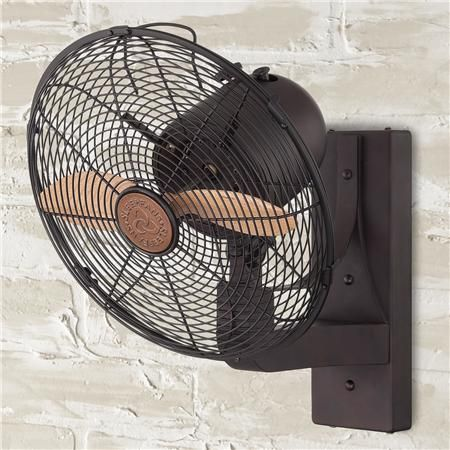 Wall Mounted Indoor/Outdoor Fan from Shades of Light $310
