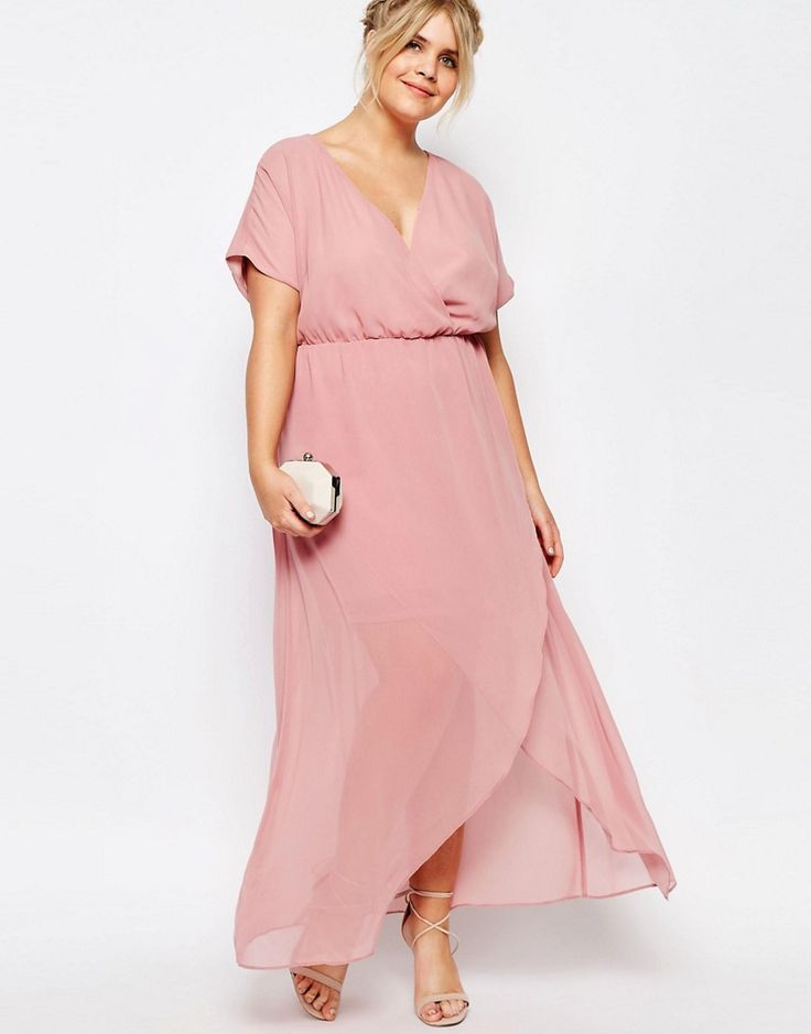 Image 4 ofTruly You Wrap Maxi Dress With Ruffle Detail
