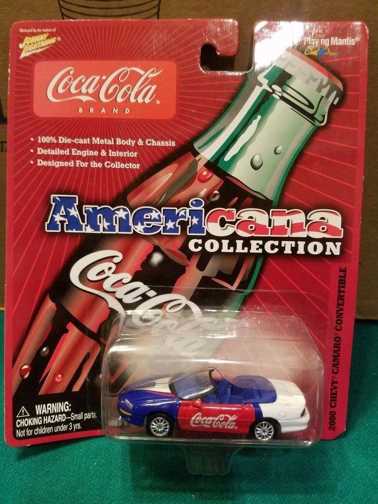 JOHNNY LIGHTNING COCA COLA CAR 2000 CHEVY CAMARO CONVERTIBLE
