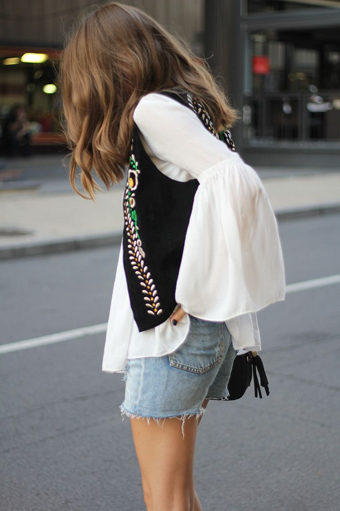 Fashion and style: Embroidered waistcoat: