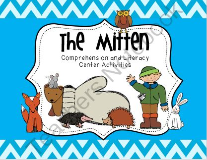 """The Mitten Literacy Center Freebie from Kindergarten Rocks 2013 on TeachersNotebook.com -  (6 pages)  - Enjoy this free literacy center activity from our literacy unit """"The Mitten Literacy Centers and Comprehension Activities."""""""