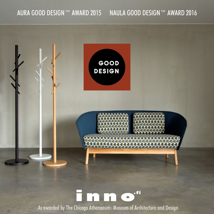 The internationally recognized GOOD DESIGN™ Award for Naula 2016 and Aura 2015