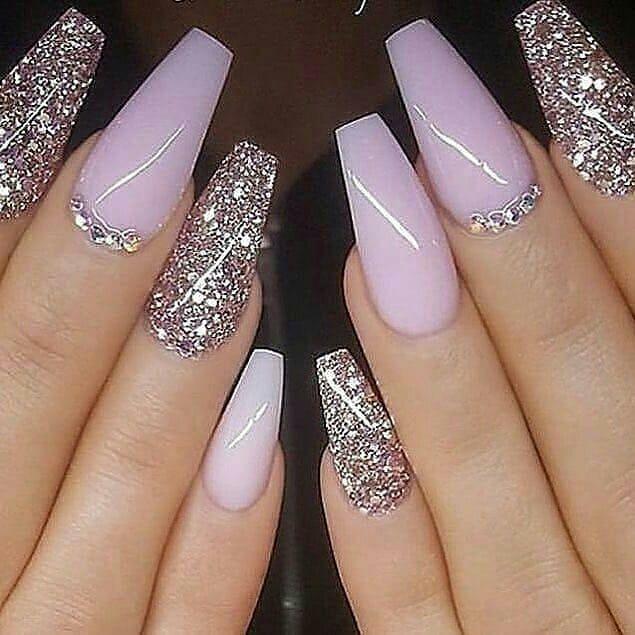 110 Nail Art Designs And Ideas 2020 Purple Nails Lilac Nails Light Purple Nails