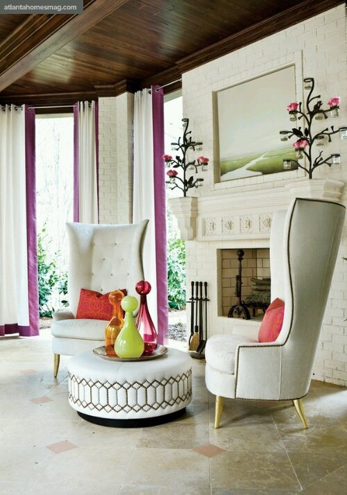 Perfect Decorating Round Tables Design Indulgences Windback Studded Nailhead Trim  Chairs Modern Interior Design Ideas
