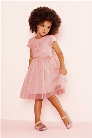 Floral Cotton Candy Toddler Dress