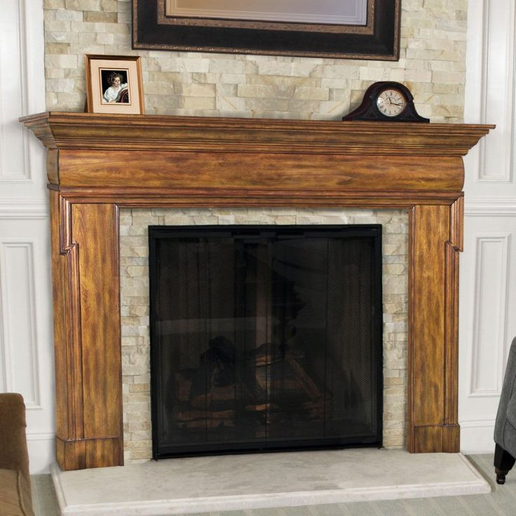 Pearl Mantels Hermitage Traditional Fireplace Mantel